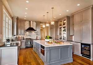 beautiful non white kitchens on pinterest house of walls are benjamin moore revere pewter cabinets are bm