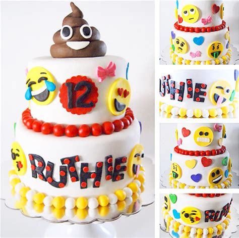 emoji cake the best emoji party cakes desserts