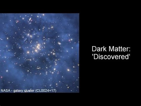 who discovered matter matter discovered