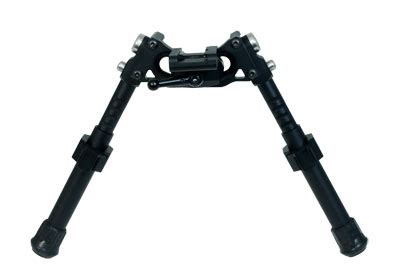 long range accuracy light tactical bipod short legs on