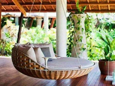 home design story romantic swing round swing bed interior pinterest