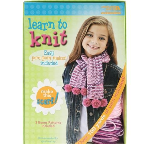 learning to knit weekend kits learn to knit crochet kits for
