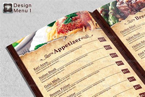 25 high quality restaurant menu design templates web