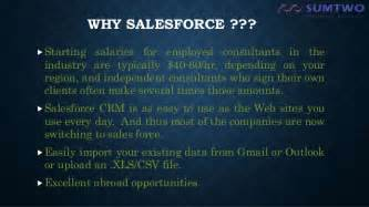 Salesforce Mba Product Manager by Sales