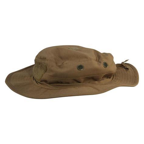 Molay Boonie Hat Coyote tru spec poly cotton ripstop contractor boonie hat tacticalgear