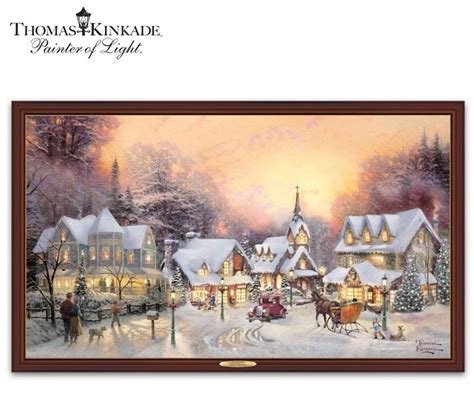 kinkade lighted pictures 138 best lighted canvas images on light up