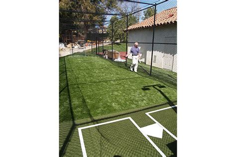 Backyard Baseball Grown Up Batting Cages Sport Court Of St Louis