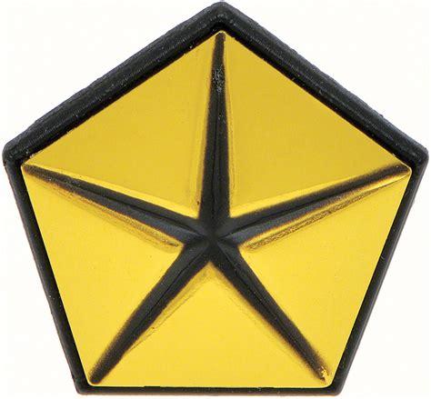 chrysler pentastar emblem 1967 1972 all makes all models parts md7087 1967 72