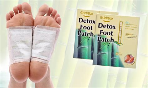 Japanese Detox by Goldrelax Japanese Foot Detox Patches Groupon