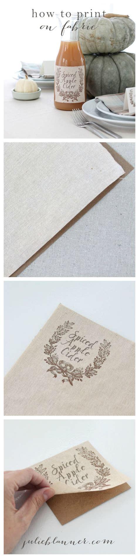printable fabric tutorial how to print on fabric fabrics tutorials and invitations