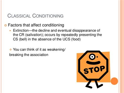 classical conditioning generalization discrimination