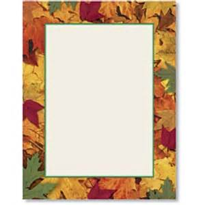 Home border papers designed border papers harvest leaves border papers