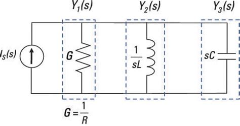 resistor inductor parallel how circuit analysis works in the s domain dummies