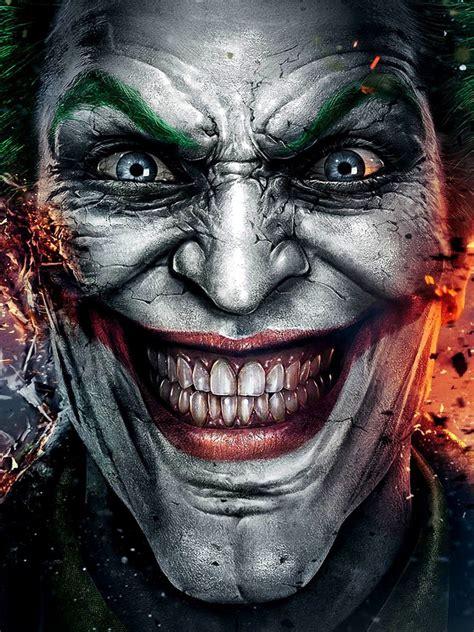 joker batman smile android wallpaper