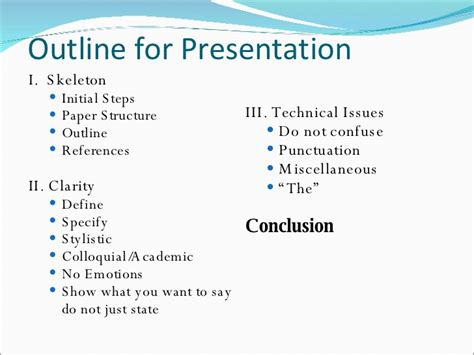 How To Make A Technical Paper Presentation - technical writing skills for research paper