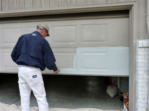 Painting Garage Door Diy Home Staging Tips Diy Project Overhead Garage Door Re Paint