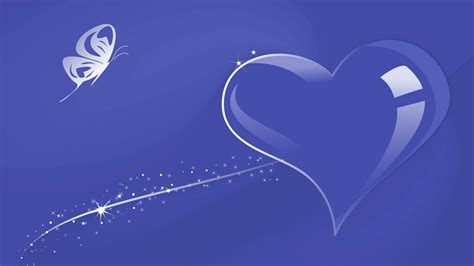 Heart with Blue Background Wallpaper | HD Wallpapers Blue Heart Background Wallpaper