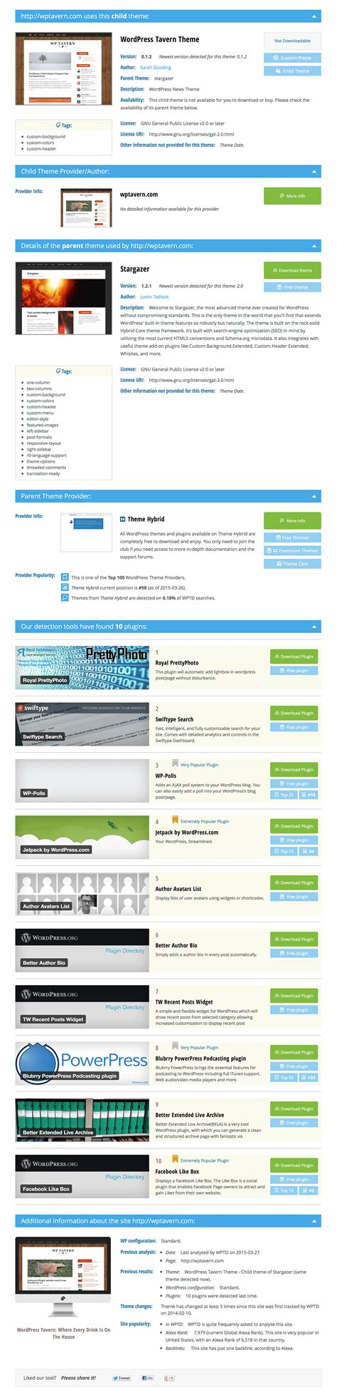 detector de themes wordpress detecting wordpress themes with wpthemedetector