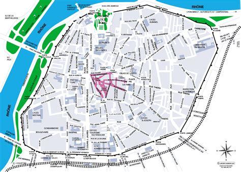 map of avignon avignon centre map avignon mappery