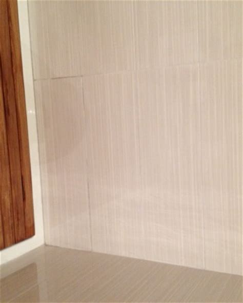 Bathroom Grout Discolored Help Grout Discoloration On Shower Wall And It S