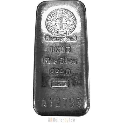 1 kilo silver bar ebay argor heraeus 1kg kilo silver bar ebay