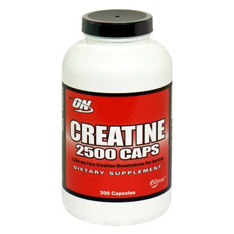 g creatine per day optimum nutrition creatine 2500 caps 200 capsules