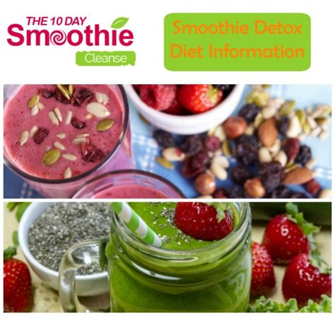 Detox Cleanse Smoothie Diet by Smoothie Detox The 10 Day Smoothie Cleanse All