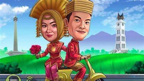 Hadiah Pernikahan Ilustrasi Pasangan Digital rekomendasi kado pernikahan untuk sahabat yang paling
