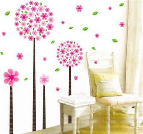 Wandtattoo Kinderzimmer Pusteblume by Wandtattoo Blumen Ornament Lila Schwarz