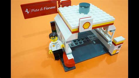 Shell Station 40195 set 40195 shell station lego speed build