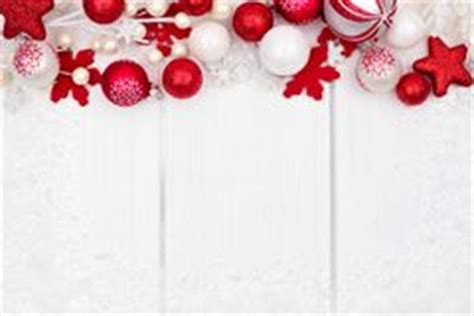 Red And White Striped Christmas Ornaments - christmas ornament border stock photos image 3025983