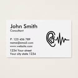Frequency Card Templates by 182 Best Images About Audiologist Business Cards On