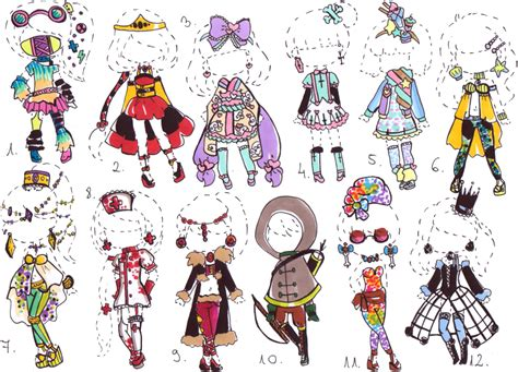 jacket design generator closed outfit adopt mix by guppie adopts on deviantart