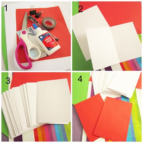 How To Make Notebook Paper Look - diy mini notebooks a everyday