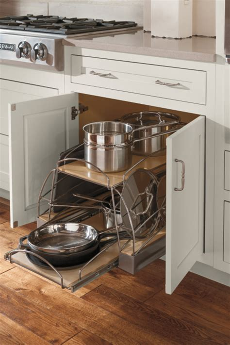 base pots and pans pull out cabinet decora