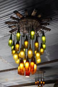 diy bottle chandelier diy wine bottle crafts the v spot