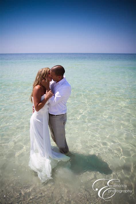 trash  dress photoshoot   beach wedding