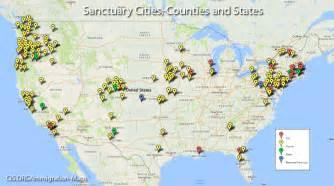 sanctuary cities map in us crime soaring in america s democrat controlled sanctuary