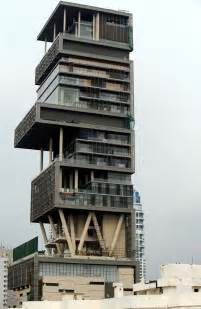 billion dollar homes big house antilla mukesh ambani home