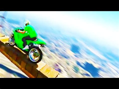 crazy building stunting! (gta 5 funny moments) youtube