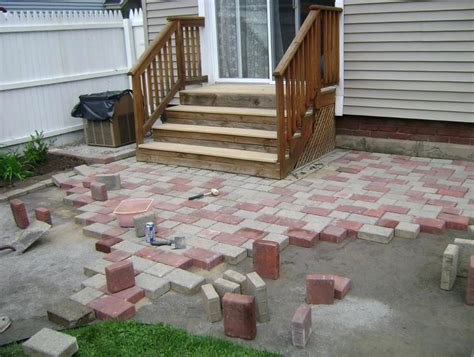 simple patio ideas small decks and patios do it yourself