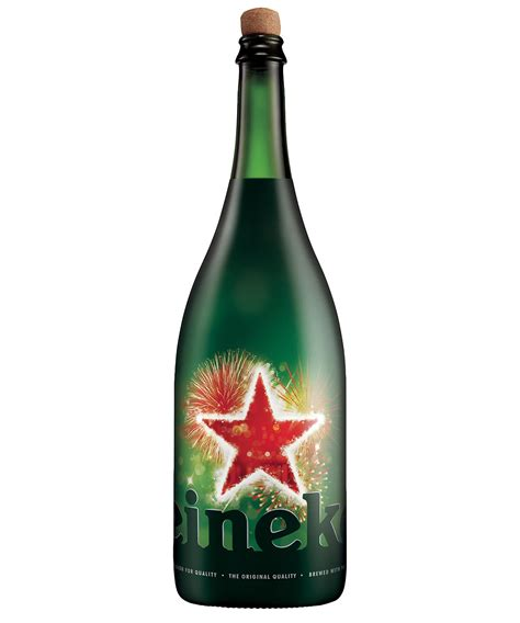rolf s must see holiday lights big beers and more broke heineken launches limited edition magnum bottle chilled