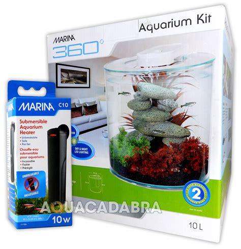 10 gallon fish tank water heater marina 360 aquarium kit with heater tropical fish tank 2