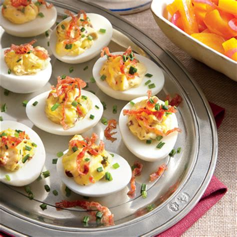 decorating deviled eggs for xmas muffuletta deviled eggs appetizer recipes southern living