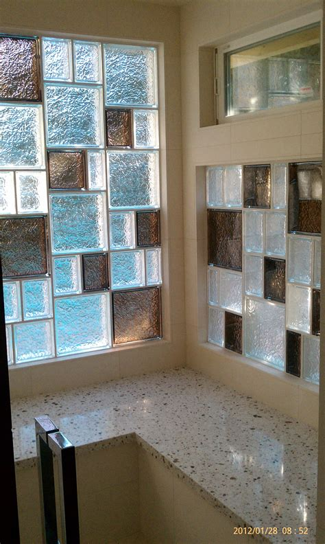bathroom window glass block introducing the new innovate protect all glass block