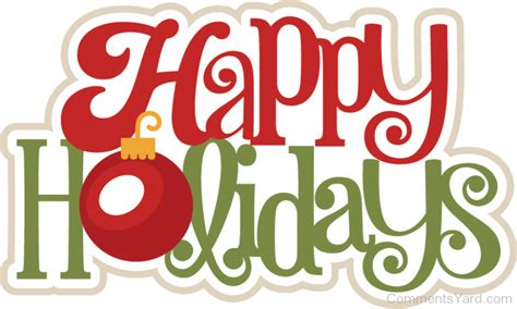 Happy Holidays by Happy Holidays Comments Pictures Graphics For