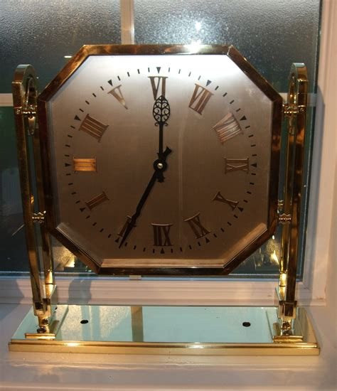 Ceiling Clock by Antiques Atlas Deco Brass Ceiling Clock