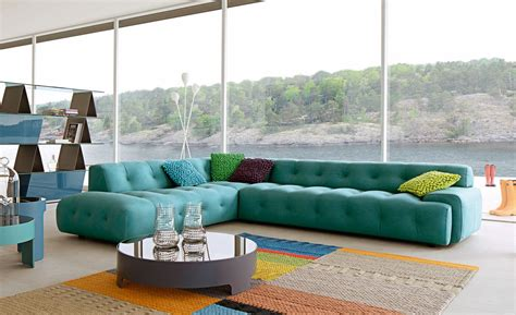 large 3 seat sofa by roche bobois