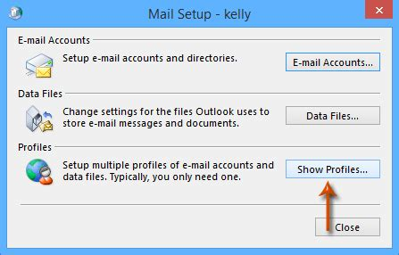 Office 365 Mail Default Font How To Switch Change Default Profile In Outlook