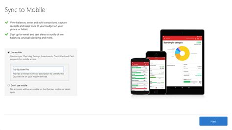 mobile sync the complete guide to getting started with quicken for